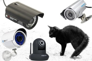 Nachtsicht Überwachungskamera